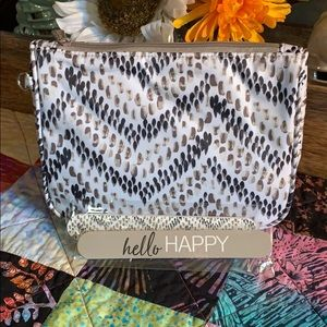 Thirty One cosmetic bag and two nail tiles